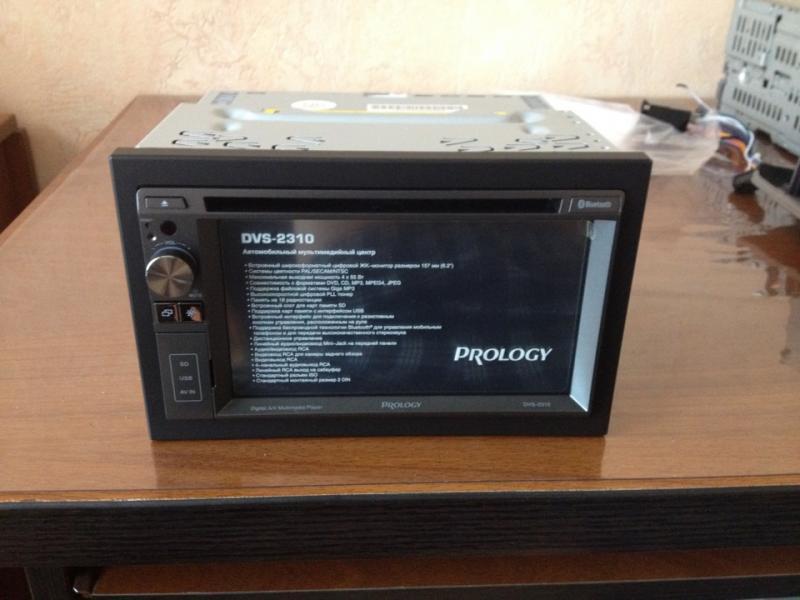 Автомагнитола Prology DVS-2310 / Автомагнитолы DVD.